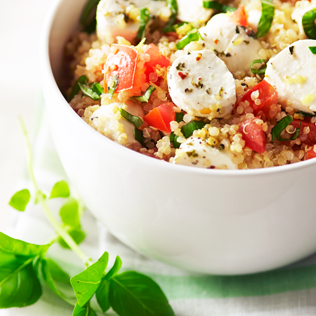 Small Image of Quinoa Caprese Salad