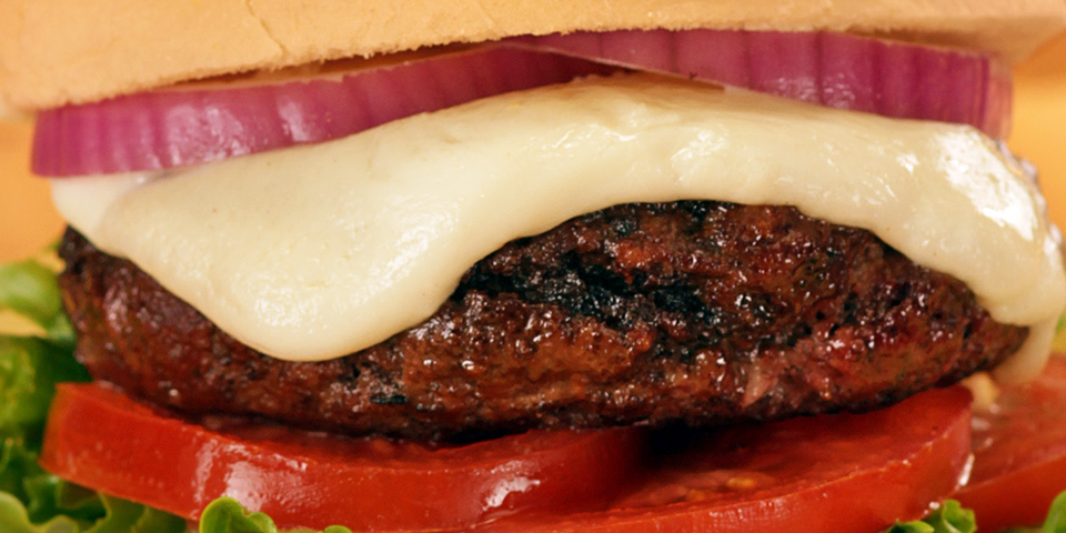 Large Image of Fresh Mozzarella Burger