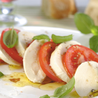 Small Image of Caprese Salad with Guacamole