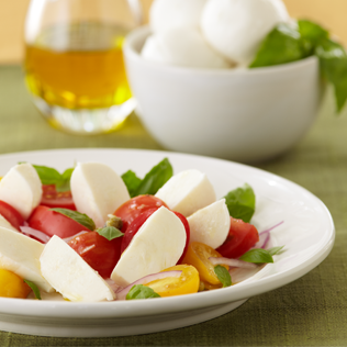 Small Image of Caprini Salad with Fresh Mozarella