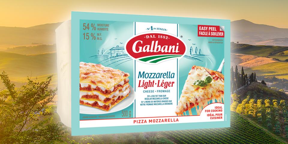 Galbani Light Pizza Mozzarella