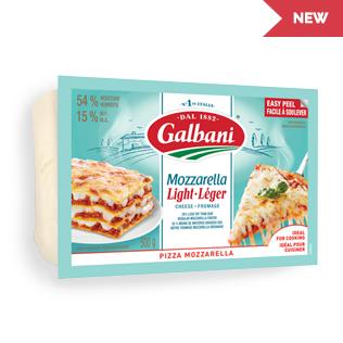Galbani Light Pizza Mozzarella Thumbnail