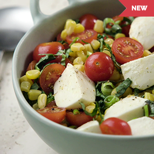 New Corn Caprese Salad