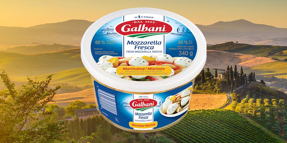 Galbani Marinated Bocconcini