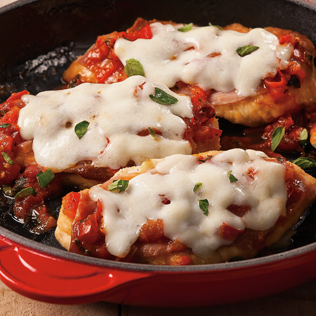 Small Image of Large Image of Chicken Scallopini