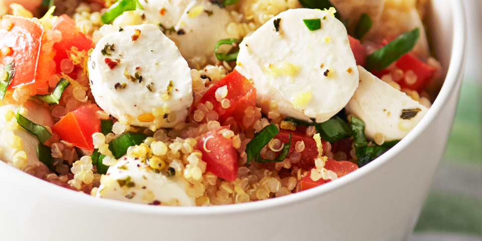 Large Image of Quinoa Caprese Salad