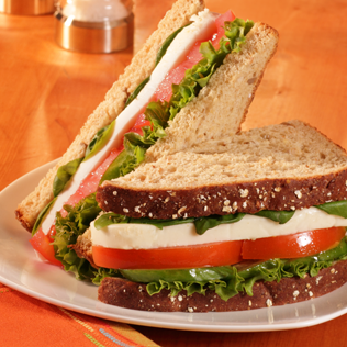 Small Image of Fresh Caprese Sandwich