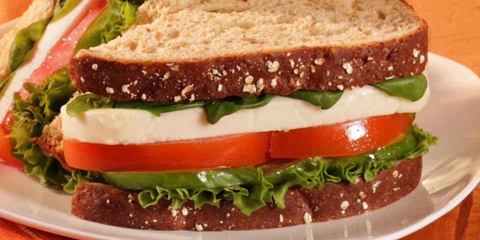 Large Image of Fresh Caprese Sandwich