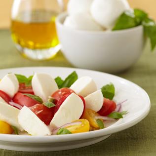Small Image of Caprini Salad with Fresh Mozarella