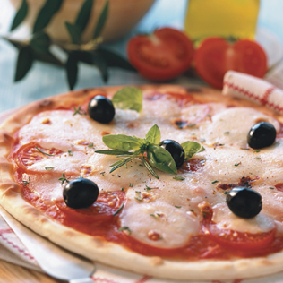 Small Image of Fresh Mozzarella Margherita Pizza