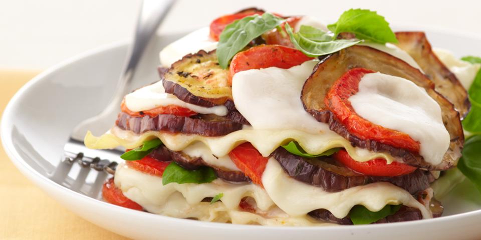 Large Image of Lasagna alla Caprese