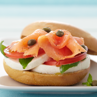 Small Image of Lox & Bagel Caprese Thumb