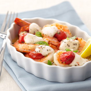 Small Image of Roasted Shrimp Caprese