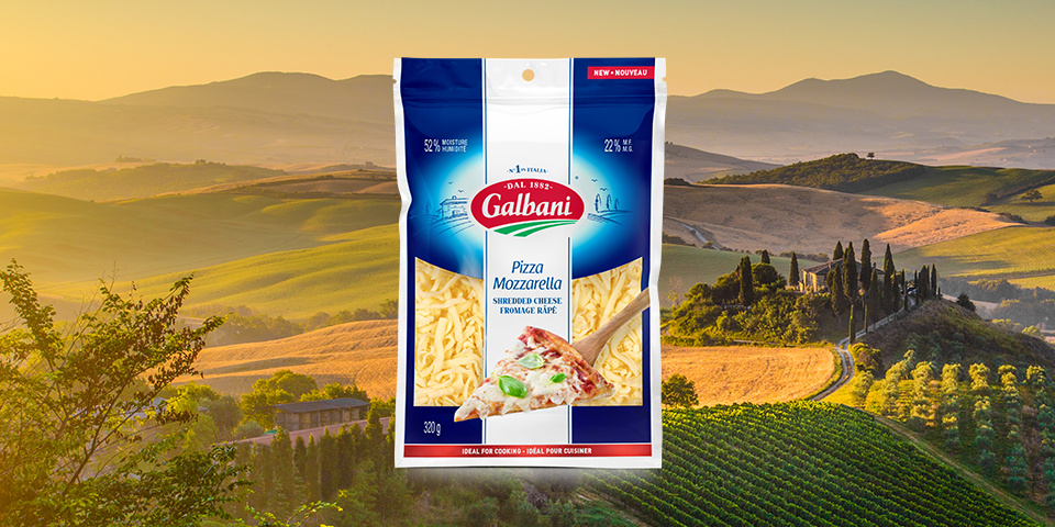 Galbani Pizza Mozzarella Shredded Cheese 320g