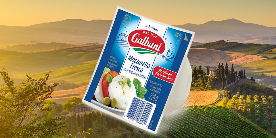 Galbani Mozzarella Fresca Sliced