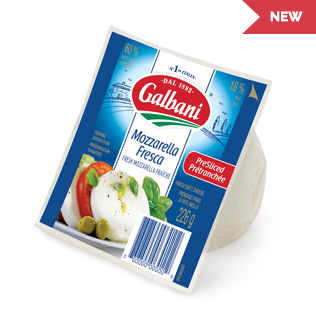 Galbani Mozzarella Fresca Sliced